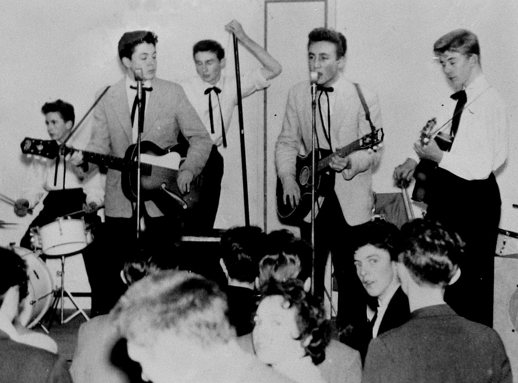 Spasm Bands, Skiffle, The Beatles