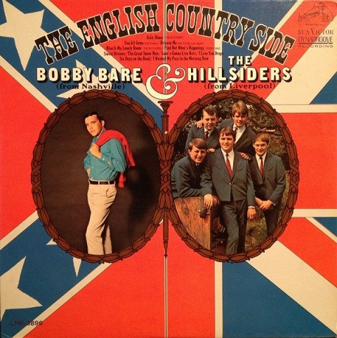The Hillsiders recorded an album with Bobby Bare