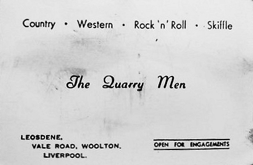 The Quarry Men - Country - Western - Rock 'n' roll - skiffle