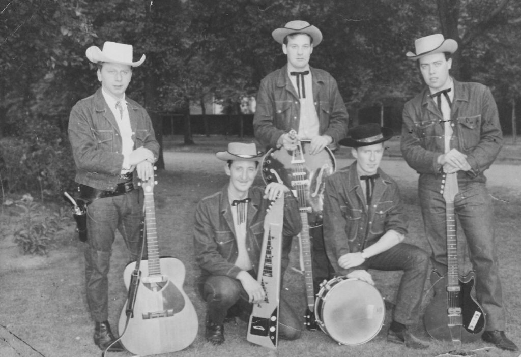 Phil Brady (far left) and the Ranchers