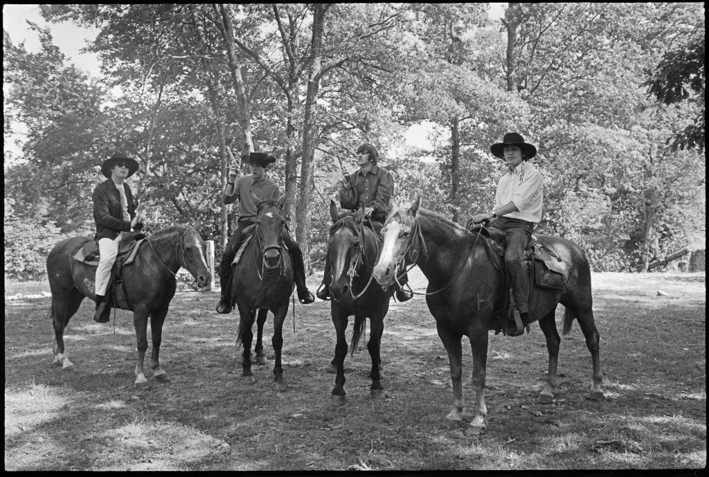 The Beatles as Cowboys